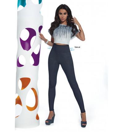 Elegantné legíny BLAIR indygo-jeans