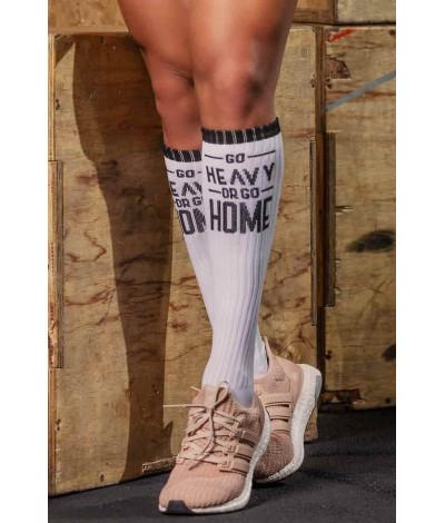 Ponožky Go Heavy Or Go Home White