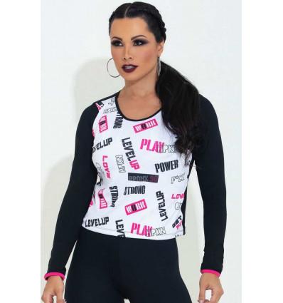 Dámske športové tričko Playoff Triangle HIPKINI