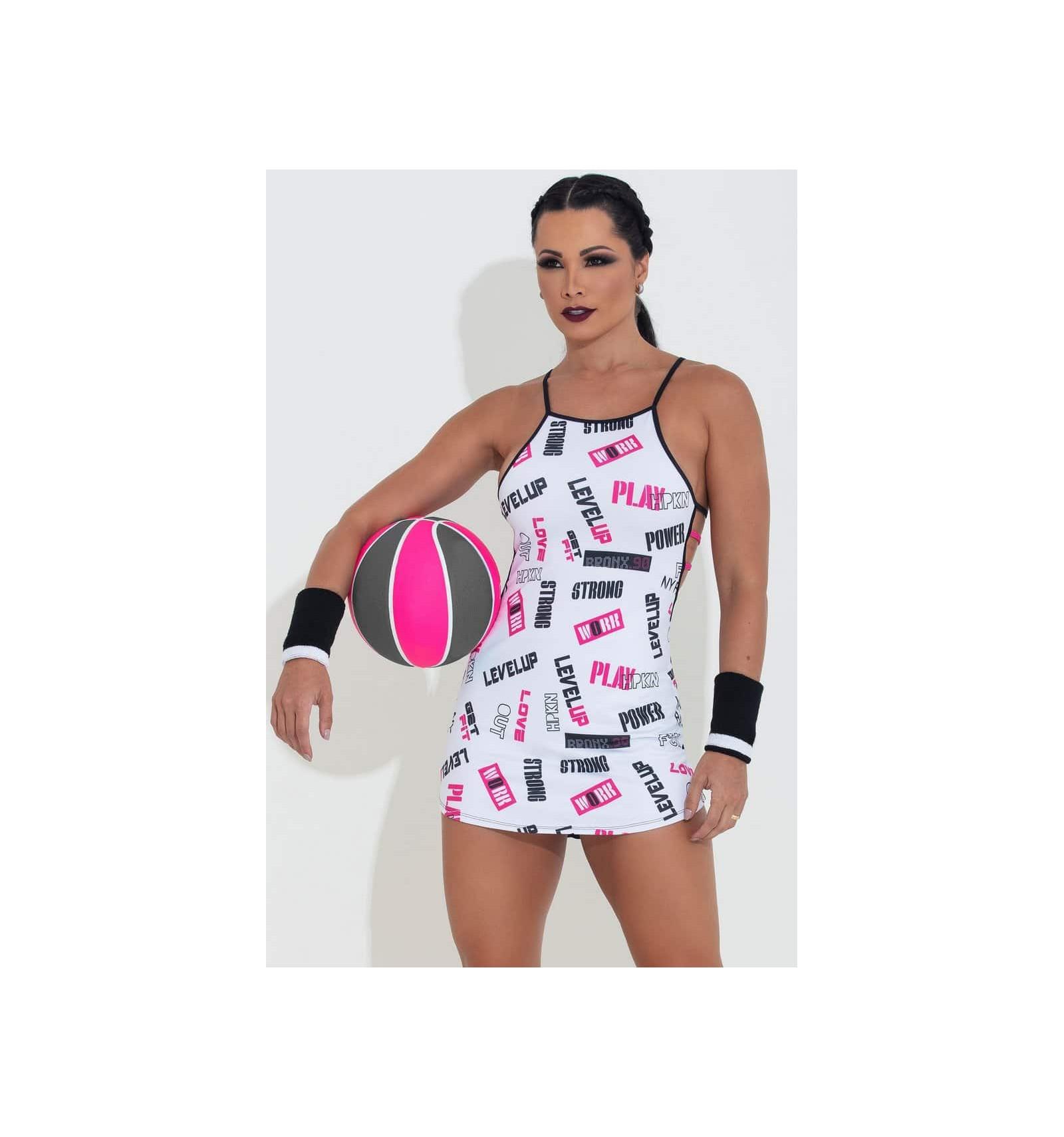74648edf24e8 Letné dámske športové tričko Playoff Splash