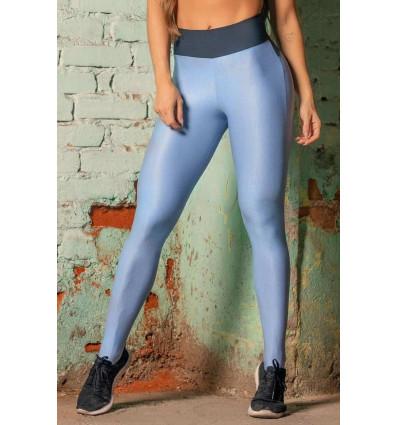Športové legíny Sw Fitness Azul com Bolso