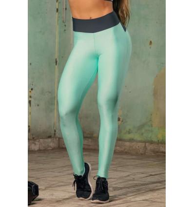 Športové legíny Sw Fitness Green with Pocket