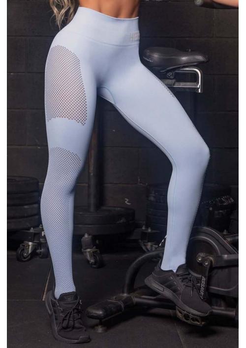 Športové legíny Wu Seamless Light Blue