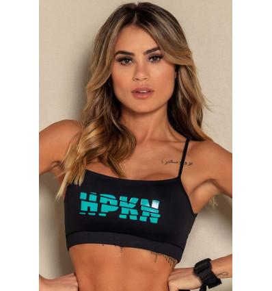 Športový top Rec Back Print Fitness