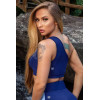 Športový top Vib Fitness Single Shoulder