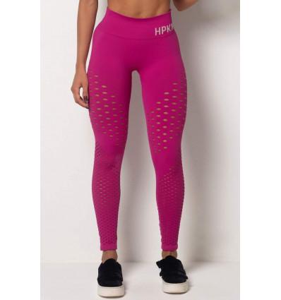 Legíny s vysokým pásom Tfin Seamless Pink HIPKINI
