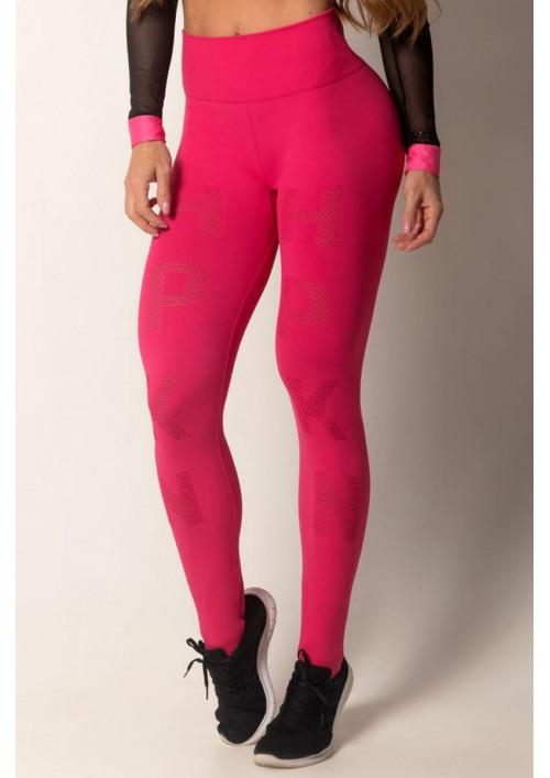 Bezšvové legíny Run Seamless Pink