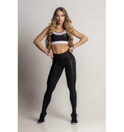 Čierne legíny Dream Fitness Black with Cirre