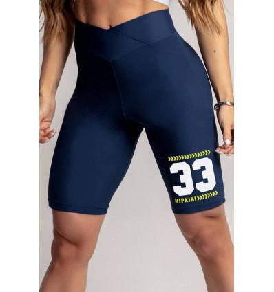 Fitness šortky Dream Fitness Navy Blue
