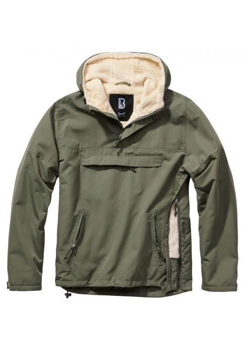 Brandit Windbreaker Sherpa bunda olivová