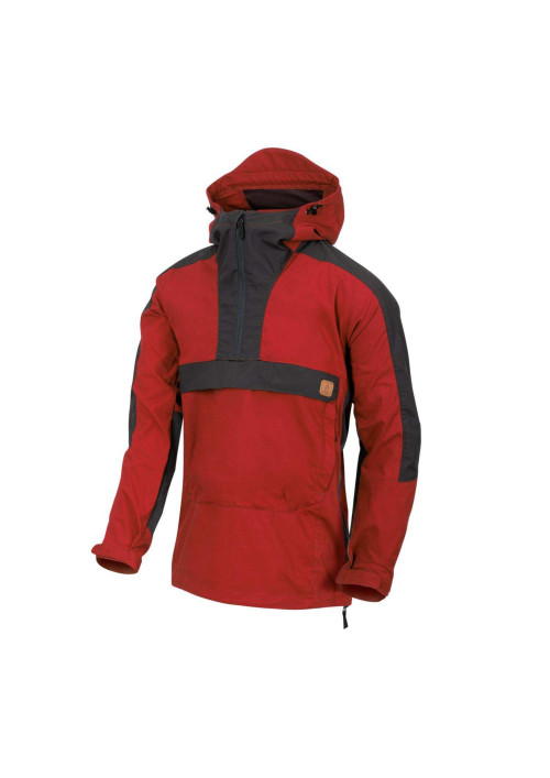Helikon-Tex® Woodsman Anorak bunda Crimson Sky/Ash Grey