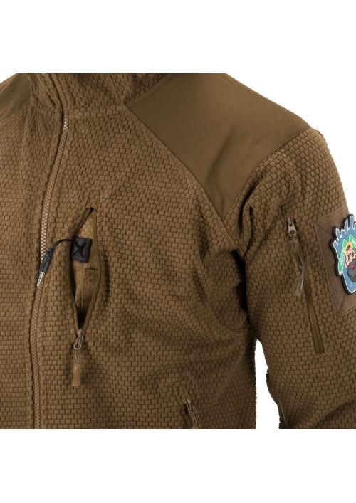 Helikon-Tex® Alpha Tactical flisová bunda čierna