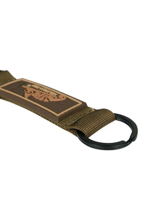 Helikon-Tex® kľúčenka s karabínou LOGO čierna