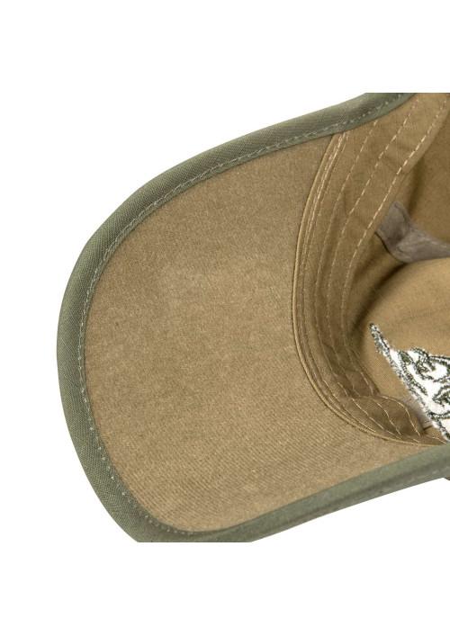 Helikon-Tex® Logo Cap RipStop šiltovka Coyote/Olive Green