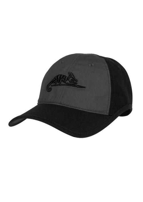 Helikon-Tex® Logo Cap RipStop šiltovka Shadow Black/Grey
