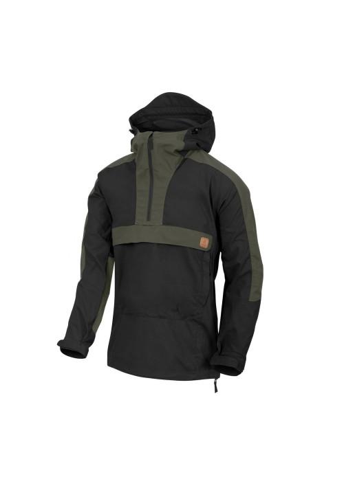Helikon-Tex® Woodsman Anorak bunda Black/Taiga Green