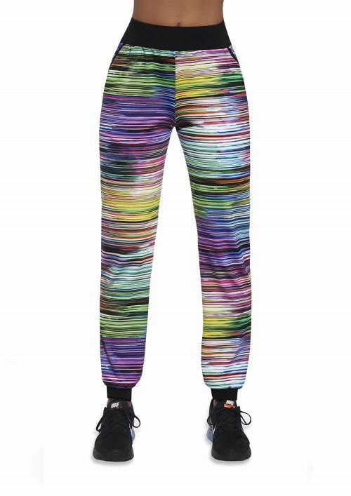 Dámske športové nohavice TROPICAL multikolor