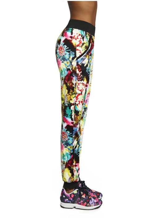Dámske športové nohavice GLADE multikolor