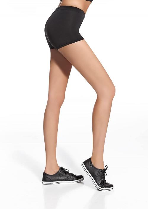 Dámske športové šortky FORCEFIT 30 čierne