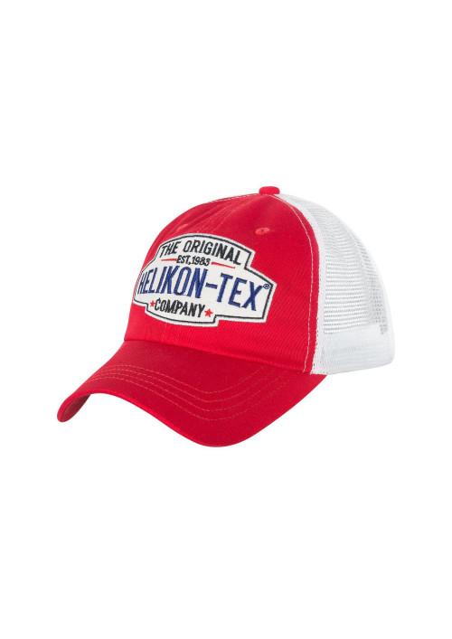 Helikon-Tex® Trucker Logo Cap červená