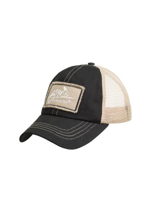 Helikon-Tex® Trucker Logo Cap čierna
