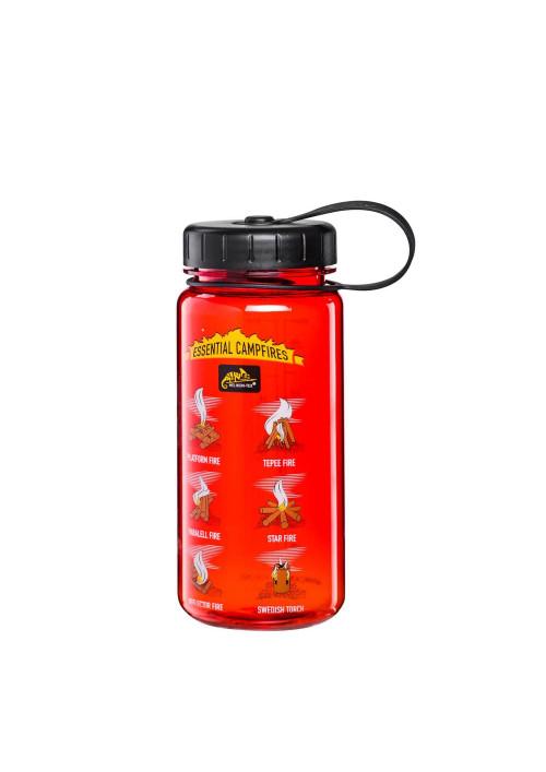 Helikon-Tex® TRITAN™ fľaša Campfires 550 ml Red Black