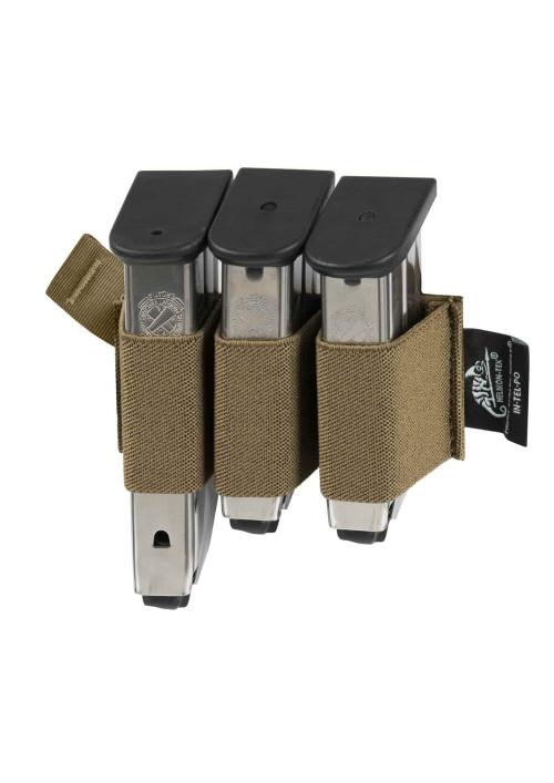 Helikon-Tex® Triple Elastic Insert® Čierny