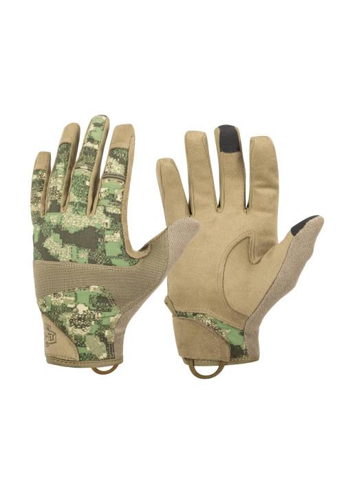 Taktické rukavice Range Helikon-Tex® Coyote/PenCott® WildWood™