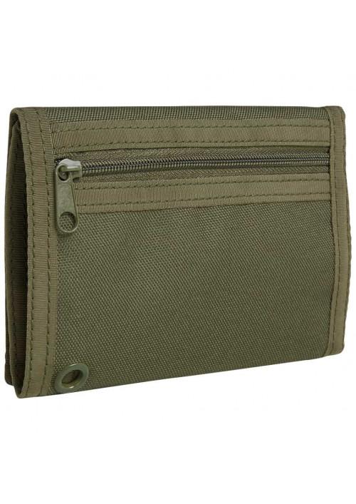 Peňaženka THREE Brandit Olive Green