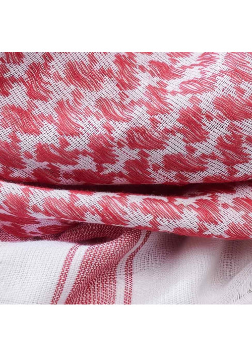 Arafatka Shemag Brandit Red White